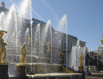 peterhof-fountains